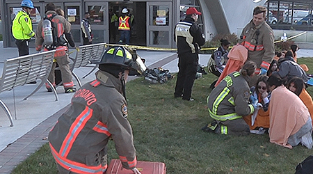 TTC emergency simulation offered unprecedented experience for York U students