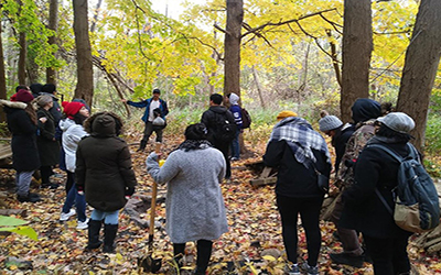 Trip to Humber River gives students an opportunity to learn from the land