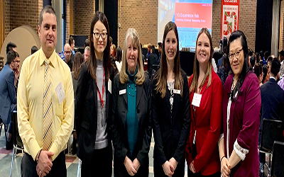 Employer networking event offers advantage for internship students