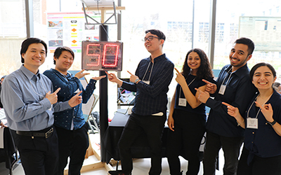 Lassonde School of Engineering students showcase their end-of-year capstone projects