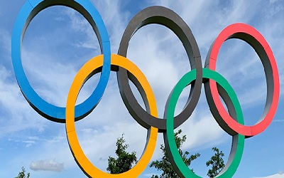 Olympians bring course content to life