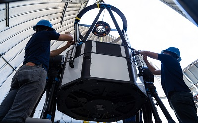New telescope: Students see the planets, moons and stars in a whole new way